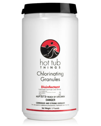 main image hot tub things chlorinating granules