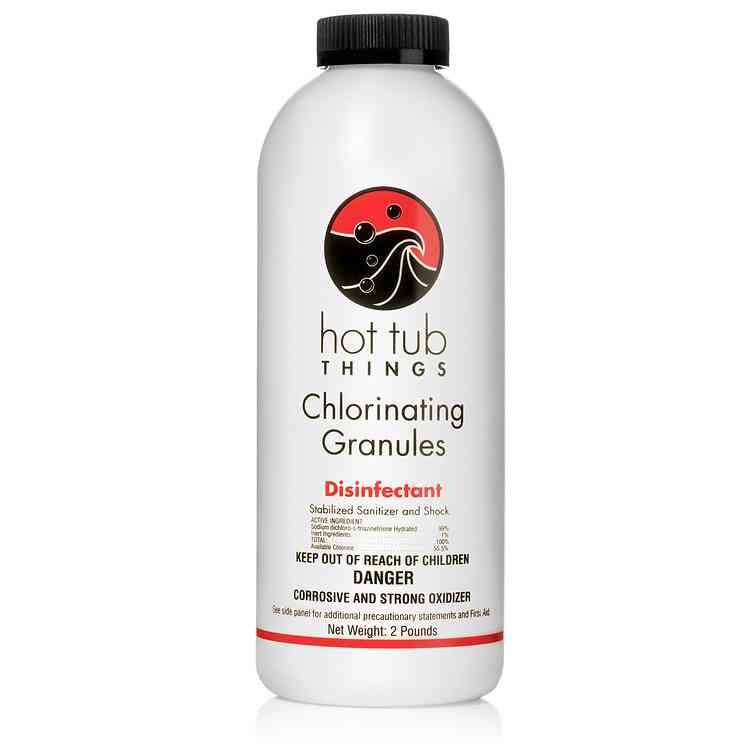 Chlorinating Granules 2 lbs Details
