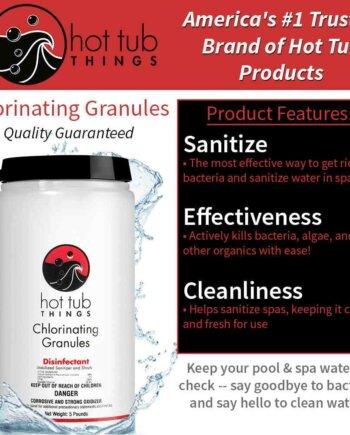 Chlorinating Granules 5 lbs Details