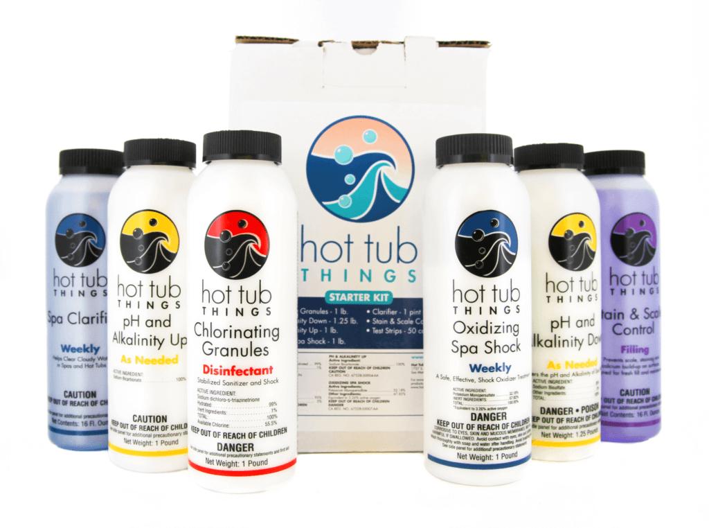 Start Up Kit- Chlorine - HotTubThings