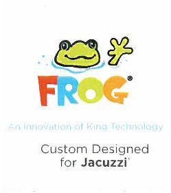 Frog logo designed for Jacuzzi